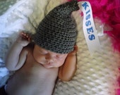 Newborn baby girl or boy HERSHEY KISSES hershey kiss hat photo prop crochet pattern pdf file instant download SALE!!