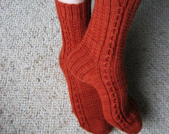 Sock Knitting PATTERN PDF, Knitted Socks Pattern - Kellebeck Socks