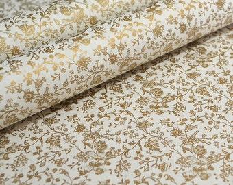 Tassotti Fine Italian Paper - Traditional Gold Floral Design
