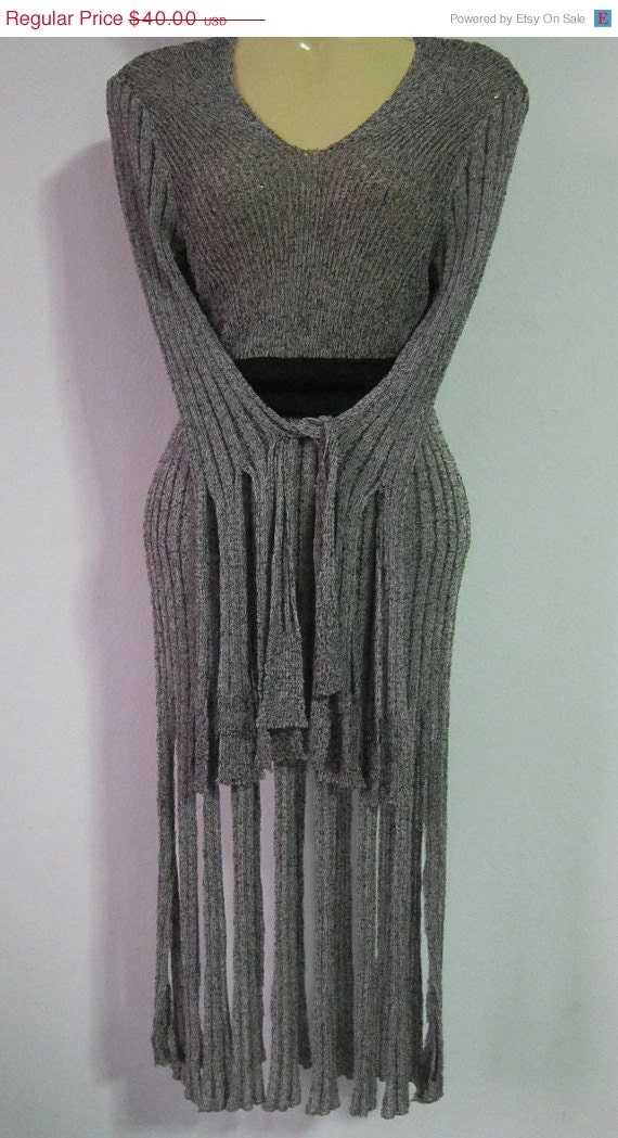 25% OFF CLEARANCE SALE tribal vibe top/bustle with heaps of fringing....take her for a twirl...