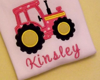 Tractor T-Shirt or Bodysuit