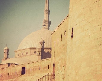 Cairo photography, Middle Eastern art, Egypt photograph, fine art print, travel photography, architecture, Arabian - Citadel