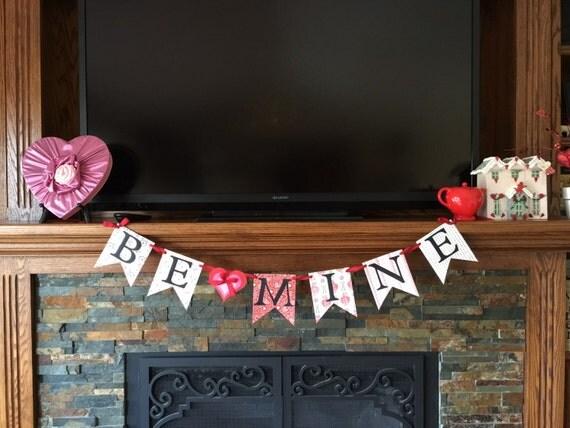 Valentine banner, photo prop banner, home decor banner ...