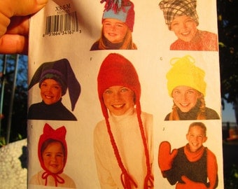 Childrens Fleece Hat and Scarf Pattern