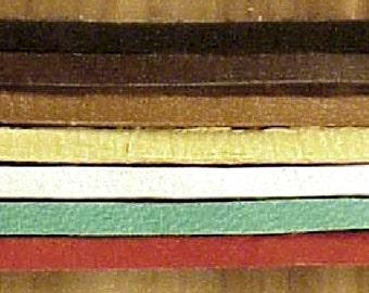 Deer Skin Lace Strips