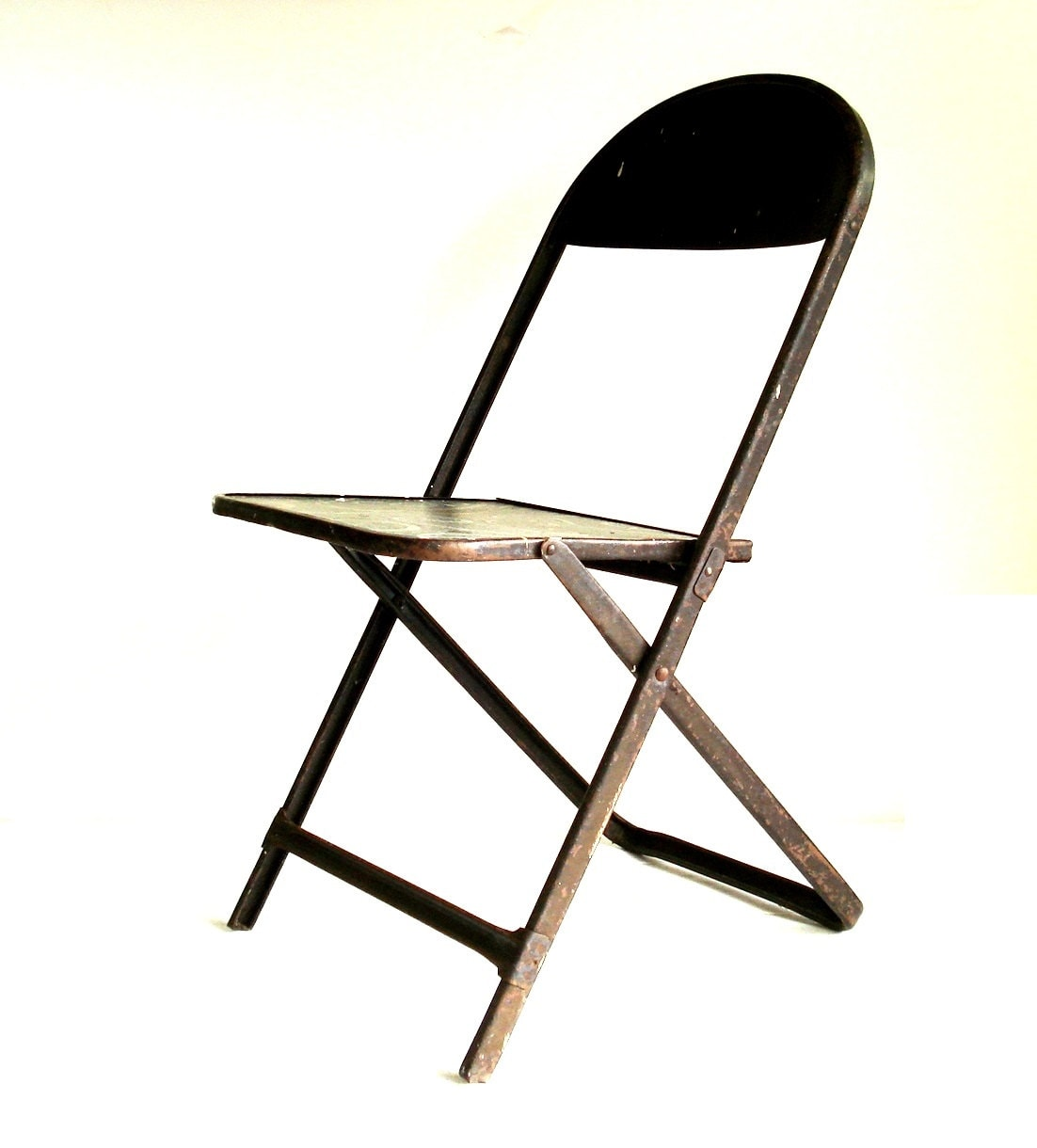 Vintage Norcor Co Metal Folding Chair