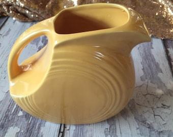 Original fiestaware juice pitcher in yellow