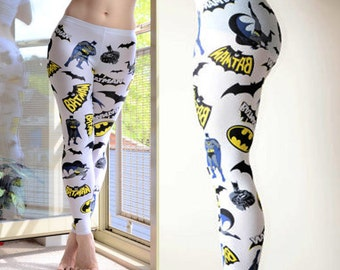 NEW Womens Comic Book Batman super hero Leggings tights