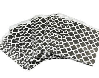 Black and White Favor Bags, candy favor bags, wedding favor bags, Black and White Favor Bags