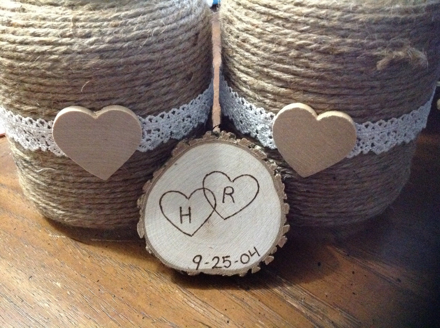 25 rustic wedding favor magnets barn wedding by sunshinessurprises