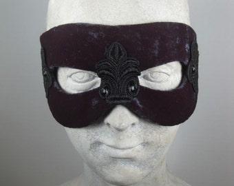 Masquerade Mask Mens//Masquerade Mask Simple//Black Masquerade Mask//Masquerade Mask Black//Halloween Masquerade Mask//Mardi Gras Masquerade