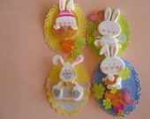 Reserved for:  Keilani Oronoz - EASTER - 4 EASTER  BUNNY Gift Tags