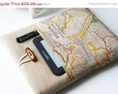 13 inch World Map Print Macbook Cover, 12'' Macbook Sleeve, 15 inch Laptop bag, custom laptop sleeve, 17 inch Macbook cover, Acer chromebook