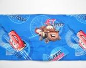 Blue Disney Cars car roll/wallet