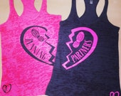 Running Partners Burnout Tank // Abundant Heart Apparel // Fitness Clothing