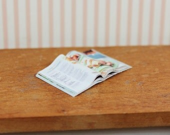 Miniature 1/12th Scale Pie Magazine