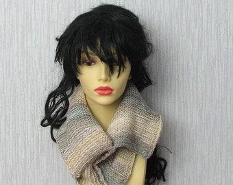 Hand Knit Cowl Neck Warmer Snood scarf spring accessories women fashion