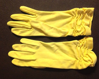 Vintage glove smedium nylon