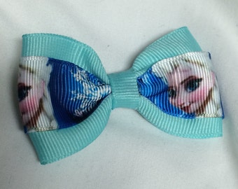 Ice Queen #2 Hair Bow - 2 inches