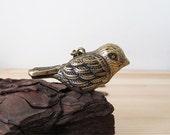 Song Bird Whistle Necklace - Antique Bronze