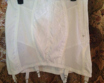 Vintage Lingerie/ Vintage Girdle/ Girdle with Garter Belts