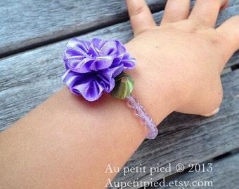 Purple baby bracelet,toddler bracelet,newborn jewelry -baby christening gift,flower girl,baby baptism gift- baby girl gift-photo prop,gifts