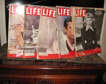 Vintage Life magazines all 1959