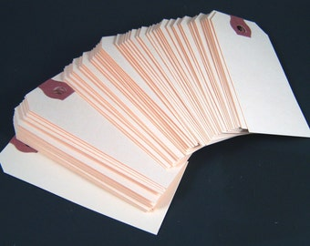 "500 Small Shipping Tags - 1 5/8""  x 3 1/4"" - Size #2 Manila Tag"