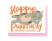 Happy Purrthday Card