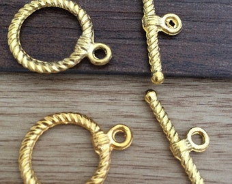 20 sets 17x22mm  Stick Toggle Clasp for Jewelry Making