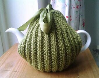 Retro Ribbon Tea Cosy pattern PDF