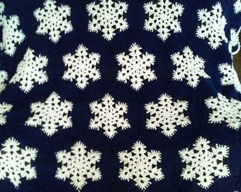 Snowflake Afghan
