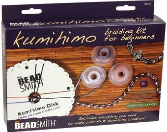 Beadsmith Kumihimo Braiding Starter Kit