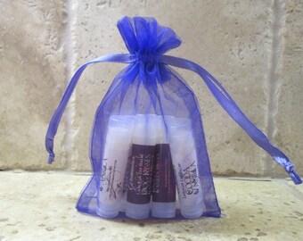 Lip Balm Gift Set - Lip Balm Set - Lip Balm - Gift Set - Moisturizing Lip Balm - Natural Lip Balm - Set of Six - Lanolin Lip Balm