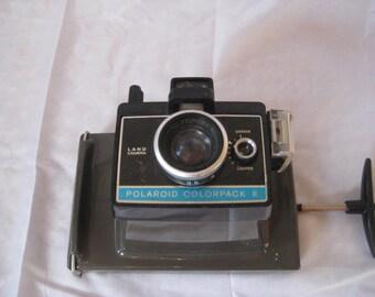 Vintage camera, Polaroid colorpack II, 70s camera