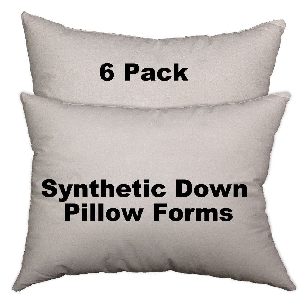 kitchen pack of l acanva x cushion com w forms insert form pillow dp amazon hypoallergenic home