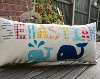 Personalised Boy/ Girl Name Cushion