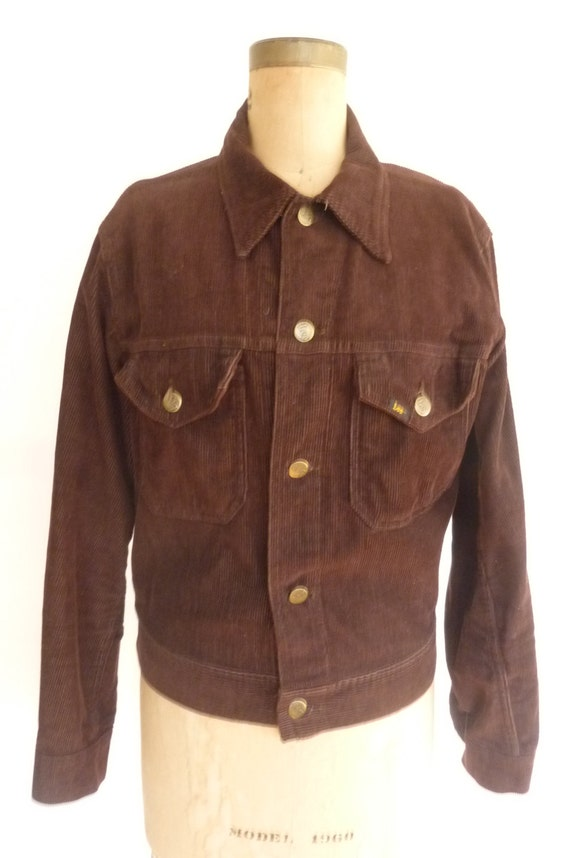 Brown Denim Jacket - Coat Nj