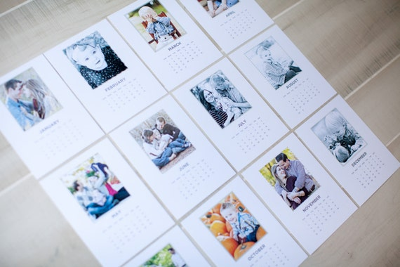 2015 Custom Photo Desk Calendar