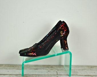 J Renee Colorful Pumps, Vintage J Renee Shoes