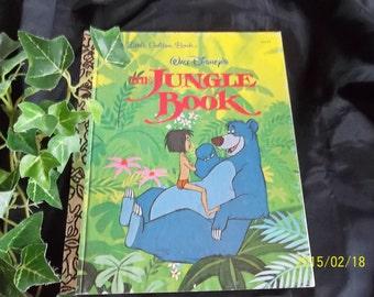 The Jungle Book, Little Golden Book, 1967 #103-64