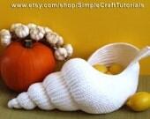 "PDF Pattern ""Spiral Shell"" Crochet Basket,  Crochet Gift, Decorative Basket Tutorial, HomeDecor and Storage, Wedding Decoration"