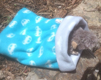 Small pet , guinea pig ,rat ,  mouse or hamster  sleeping bag , snuggle  sack