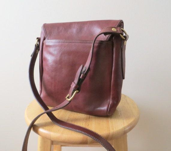 Timberland Brown Leather Shoulder Bag 56