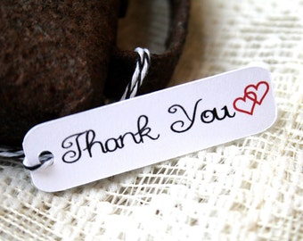 Thank You Gift Tag, Valentines Tag, Thank You Tags, Wedding Favor, Valentines Tags, Valentines Favor, Gift Tags, Favor Tags