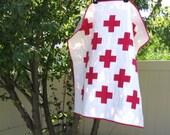 Modern Plus/Cross Wee Wander Baby Quilt