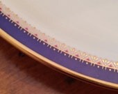 """Lenox China Presidential Collection """"Jefferson"""" Pattern Small Oval Vegetable Serving Bowl"""