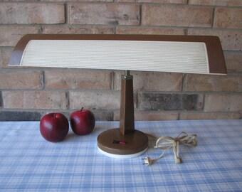Hilco Desk Lamp  - Industrial Writers Gooseneck Light - Vintage 1960's