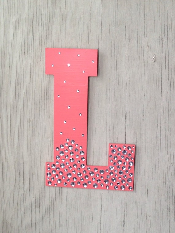 Items Similar To 13 Sparkle Coral Semi Bling Decorative