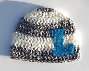 Baby Boy Hat Baby Boy Hats Crochet Baby Boy Hats Personalized Baby Boy Beanie Newborn Photography Props Personalized Baby Boy Hat Knit Hat